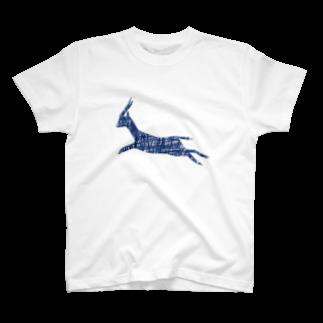 NIKORASU GOのシカアート T-shirts