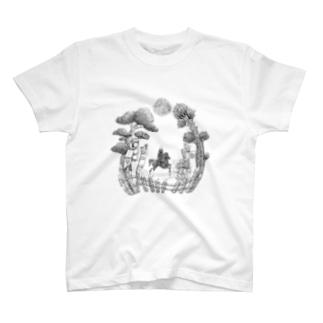 月夜と大杉 T-shirts