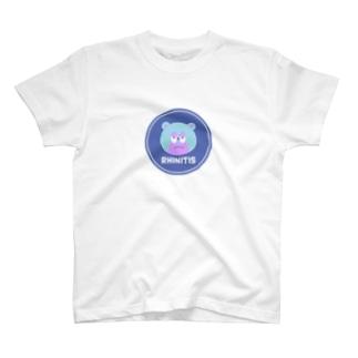 Rhinitis 鼻炎 T-shirts