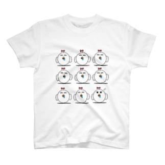 ヨダレ小鳥の大群 T-shirts