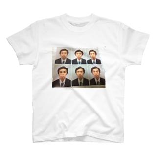 私の証明写真 T-shirts