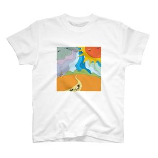北風と太陽 T-shirts