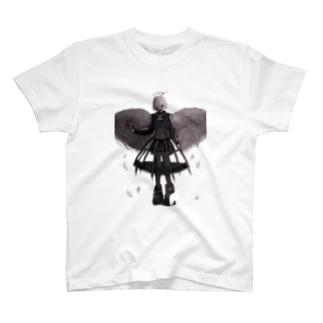 天使が黒い服着たっていい T-shirts