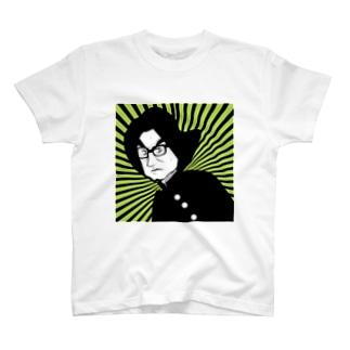 黒縁 T-shirts