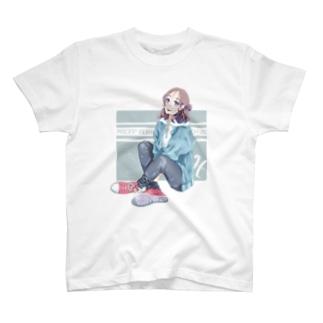 La Baleine / ラ・バレーヌの(水) うお座xCONVERSE T-shirts