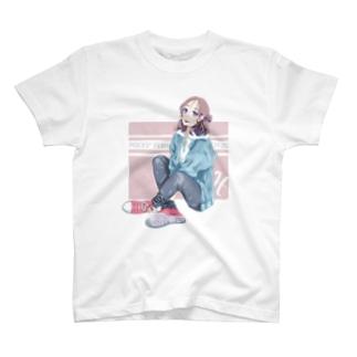 La Baleine / ラ・バレーヌのうお座xCONVERSE T-shirts