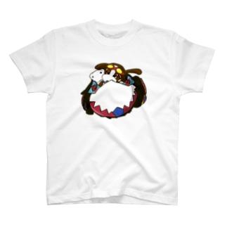 わんたんマシーン(カラー) Tシャツ