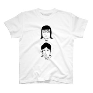 メイクアップAFTER-H T-shirts