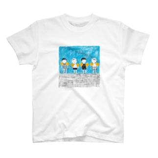 キッズスイミングTシャツ T-shirts