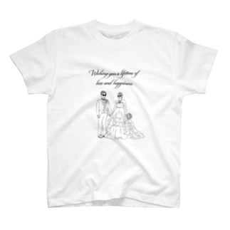 Wishing you a lifetime of love and happiness. T-shirts