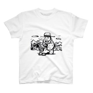 麦わら T-shirts
