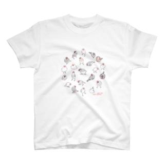 文鳥たち T-shirts