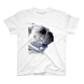 フレンチブルドッグの可愛いグッズ T-shirts