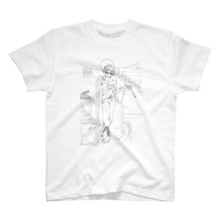 機械系男子 T-shirts