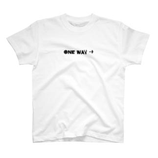 ONE WAY→ T-Shirt