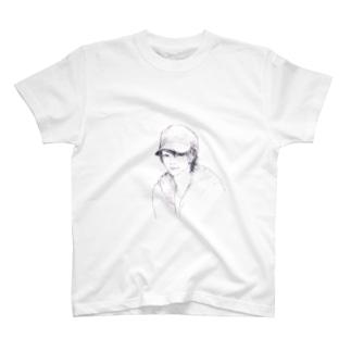 帽子男子 T-shirts