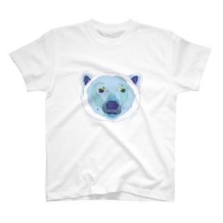 シベリアのシロクマさん T-shirts