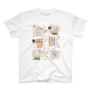 メゾン・ド・にゃんこ T-shirts