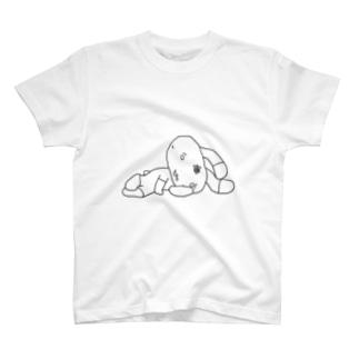グラウンドりらぴょん T-shirts