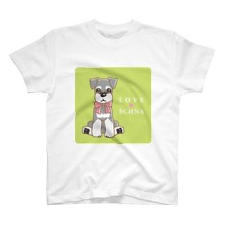 LOVESCHNA-らぶしゅな- T-shirts