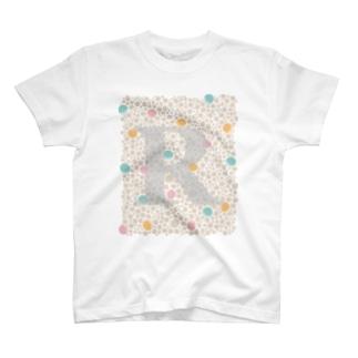 イニシャルR T-shirts