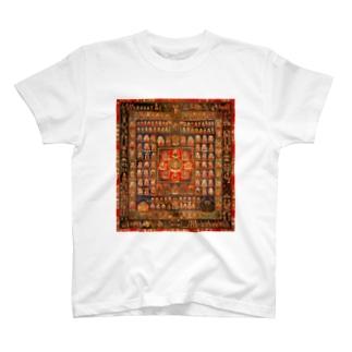 曼荼羅power T-shirts