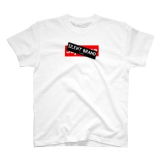 SILENT BRAND FAKE BOXLOGO T-shirts