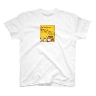 おカバン持った? T-shirts