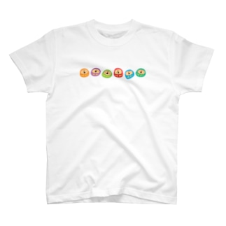 カラフルだるま T-shirts