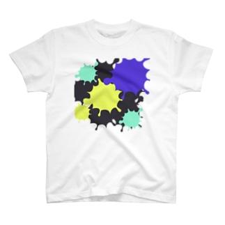 スプラッシュ Tシャツ T-shirts