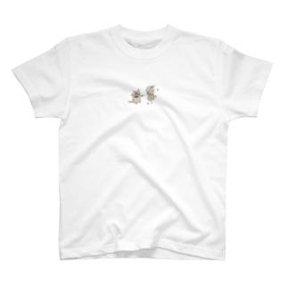 ごましおとごま子のわくわくエコバッグ♪ T-shirts