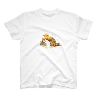 ぬれちゃうよ T-shirts