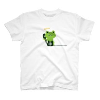 かえるコール T-shirts
