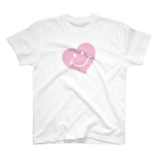 スマイルハート♡ T-shirts