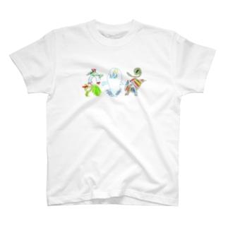 怪獣5 T-shirts
