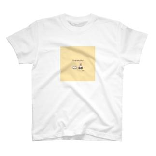 ドット絵 てんむす食べたい T-shirts