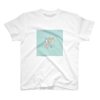 ドット絵 牛乳 T-shirts