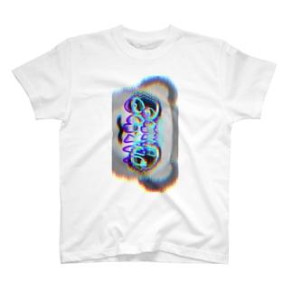 𓀇De La でぃすとぴあ𓁍のChill熊 T-shirts