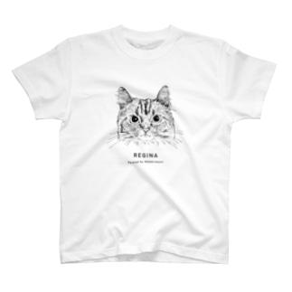 1CAT(REGINA) T-shirts