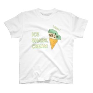 アイスクリームなサメ T-shirts