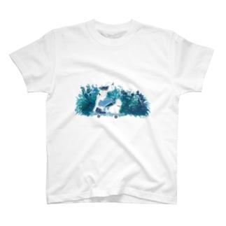 スケーターガール T-shirts