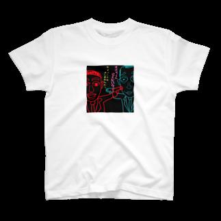 Kocco58のぷぅちん~サイバーテロ~ T-shirts