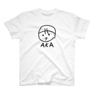 ほのぼのAKAさん 赤ちゃんイラスト T-shirts