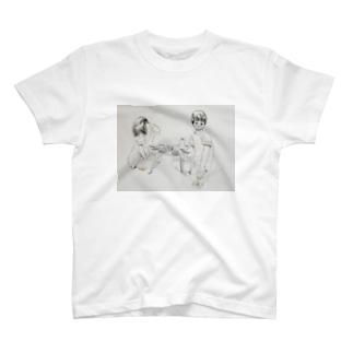 カップル(食卓) T-shirts