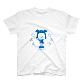 忍者犬たろうくん_JAPAN T-shirts