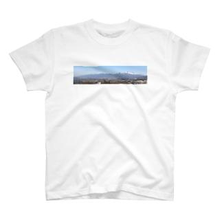 浅間山b T-shirts