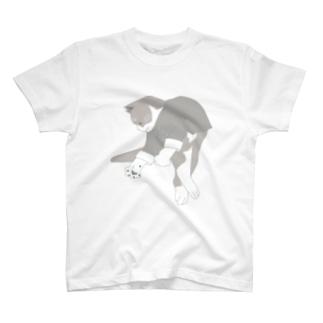 猫功夫(猫カンフー) T-shirts