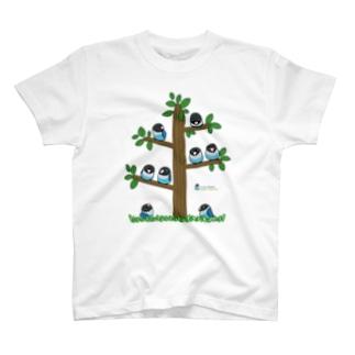 LOVEBIRD BOTAN Tree T-shirts