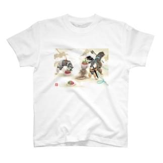 いちご狩り T-shirts