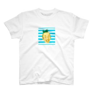 サティパイナポヘアシリーズ bikke作成 T-shirts